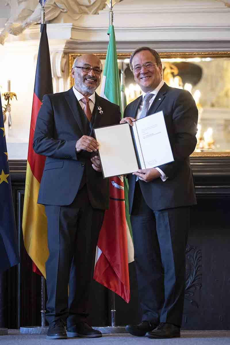 Nordkirchen, 23.08.2019: Verleihung des Verdienstorden des Landes Nordrhein-Westfalen durch Ministerpräsident Armin Laschet.