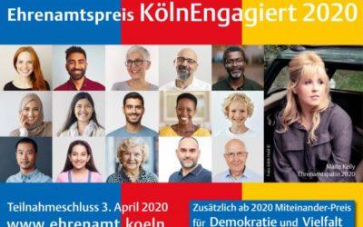 """Interkulturelle Zentren sind Preisträger von """"KölnEngagiert 2020"""""""