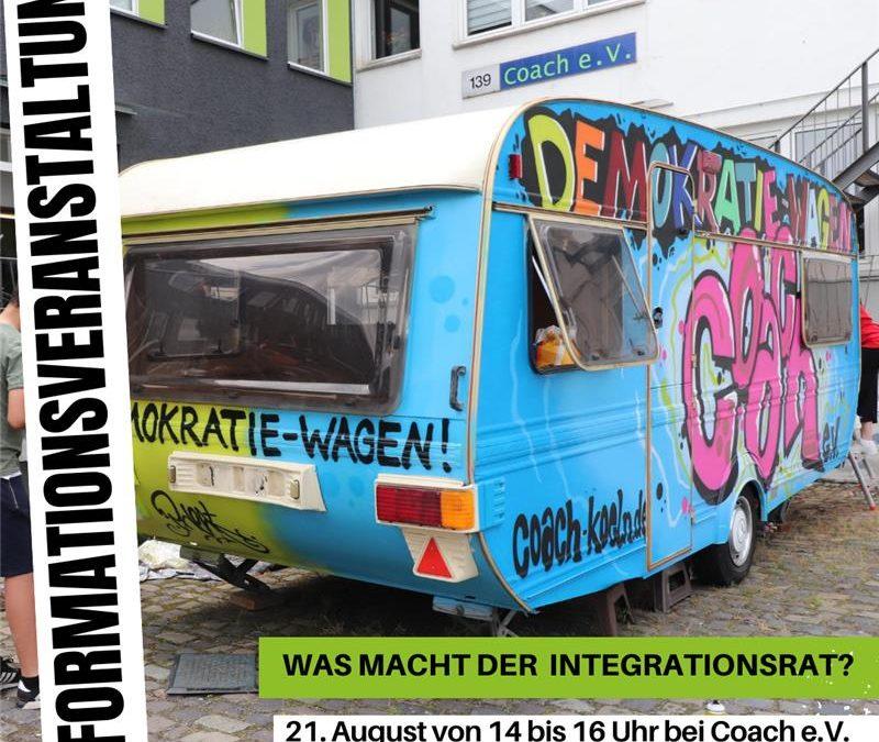 Was macht der Integrationsrat? Eine Informationsveranstaltung zu den Integrationsratswahlen 2020 in Köln