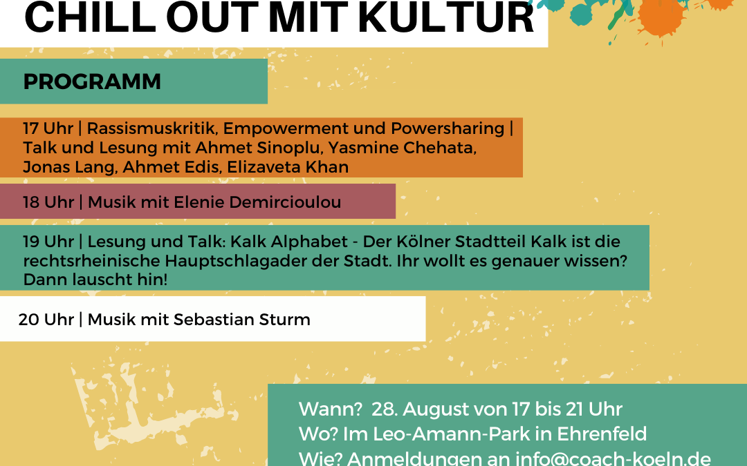 Chill Out mit Kultur!
