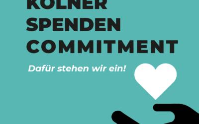 Coach e.V. Mitinitiator des Kölner Spenden Commitments