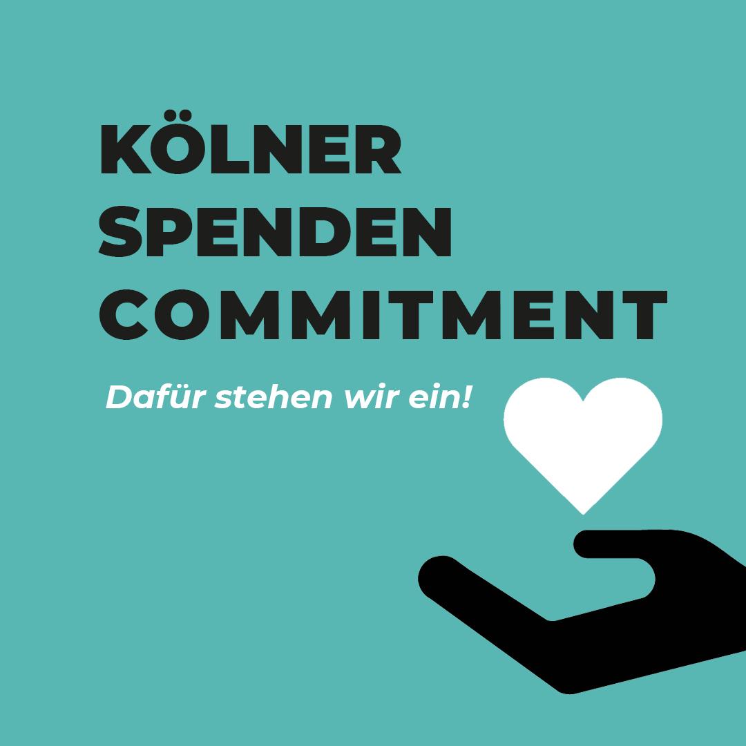 Kölner Spenden Commitment
