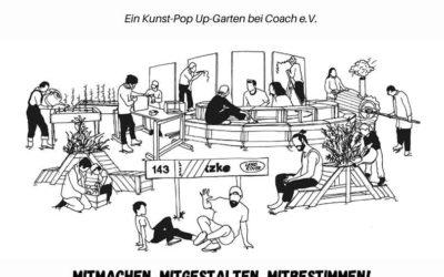 Summercamp– Ein Kunst-Pop Up-Garten bei Coach e.V.
